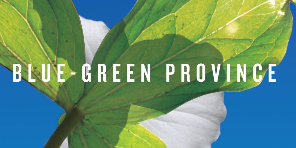 Blue-Green Province book review A\J AlternativesJournal.ca