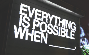 EVERYTHING IS POSSIBLE WHEN, building. A\J AlternativesJournal.ca