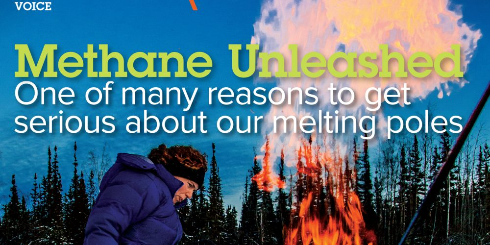 methane unleashed climate change A\J AlternativesJournal.ca