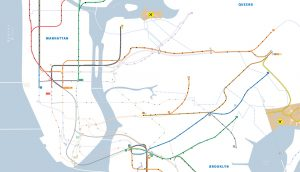 New York subway system. A\J AlternativesJournal.ca