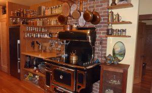 zero waste kitchen from Janine Brossard