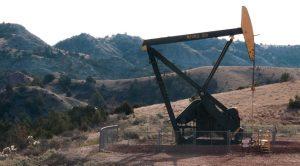 Drilling, hydraulic facturing in the North Dakota badlands. A\J Alternatives