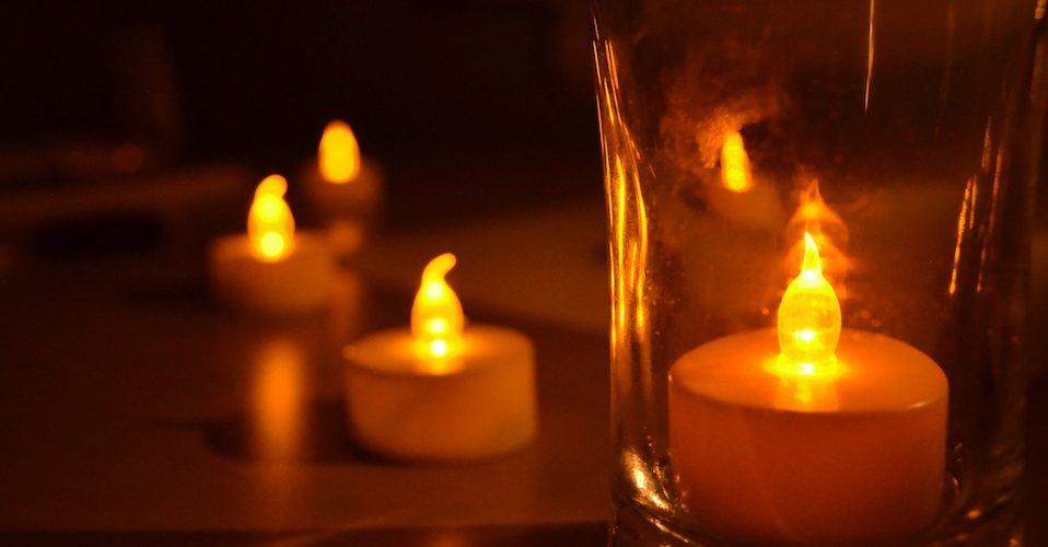 blackout night candles save energy A\J Alternatives Journal