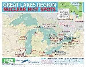 nuclear hot spots map great lakes A\J AlternativesJournal.ca
