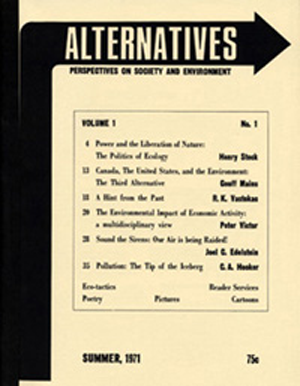Alternatives Journal 1.1