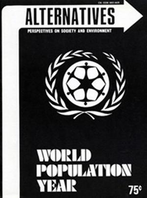 World Population Year Alternatives Journal 3.3