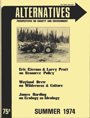 Summer 1974 Alternatives Journal 3.4