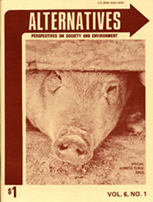 Special Agriculture Issue Alternatives Journal 6.1
