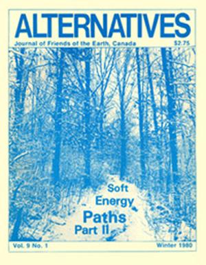 Soft Energy Paths Part ll Alternatives Journal 9.1