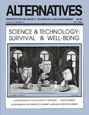 Science and Technology: Survival and Well-Being Alternatives Journal 13.2