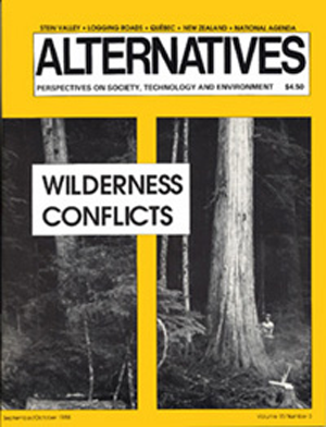 Wilderness Conflicts Alternatives Journal 15.3
