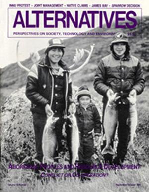 Aboriginal Peoples and Resource Development Alternatives Journal 18.2