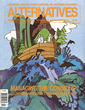 Cooperative Approaches to Resource Stewardship Alternatives Journal 19.3