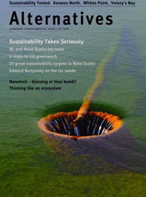 Sustainability Taken Seriously Alternatives Journal 34.4