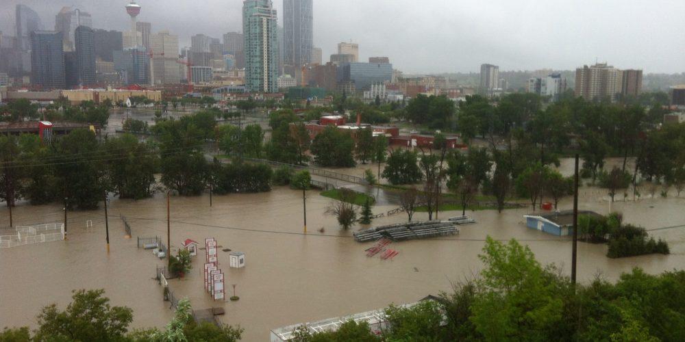 Calgary flood 2013. A\J Alternatives Journal.ca