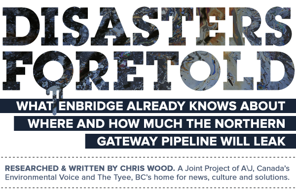 What Enbridge already knows about where and how much the Northern Gateway Pipeline will leak.