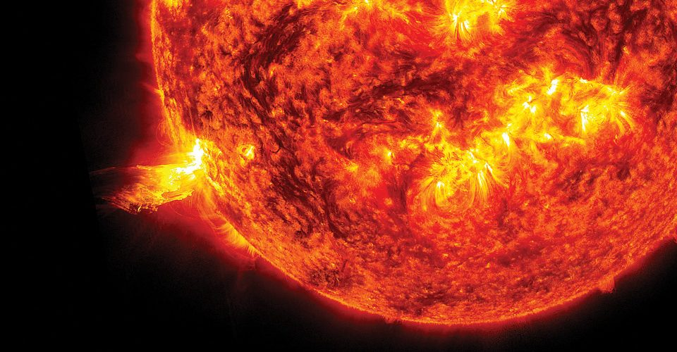 Flare Fatale. Image of a solar flare from NASA | A\J AlternativesJournal.s