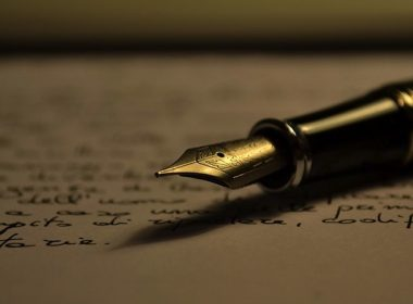 The power of words. Photo by Antonio Litterio. Alternatives Journal