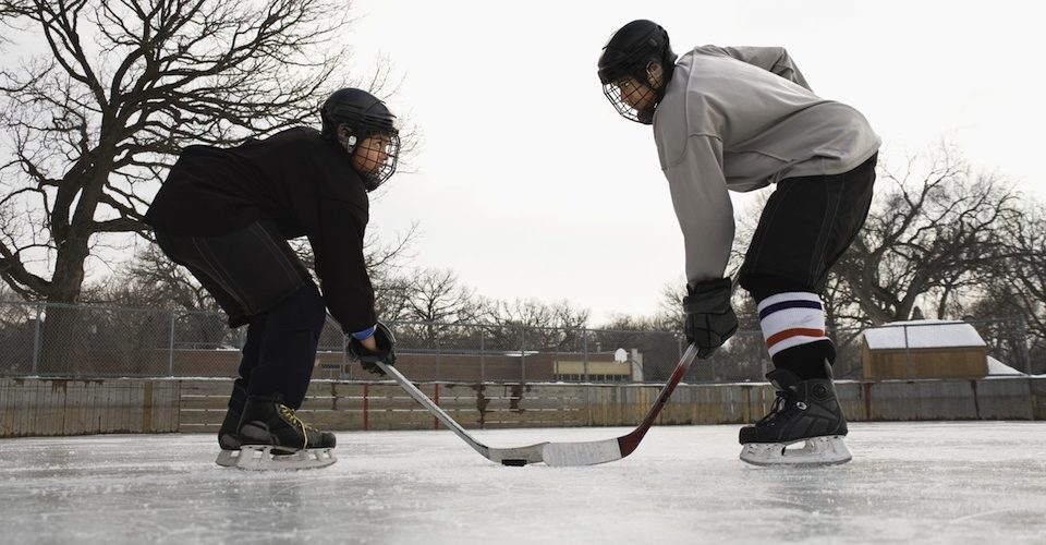 ice hockey at risk due to climate change A\J AlternativesJournal.ca