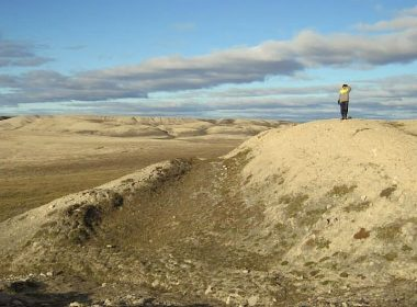 Arctic tundra, Victoria Island, Nunavut.