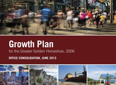 The Province of Ontario's 25-year Growth Plan for the Greater Golden Horseshoe