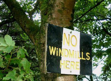 No windmills here