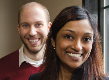 Mike Morrice and Priyanka Lloyd from the Sustainability CoLab.