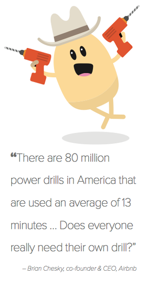 There are 80 million power drills in America, used for an average of 13 minutes.