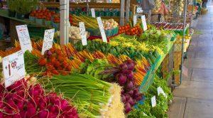 Fresh produce at the Byward Market by Jamie McCaffrey
