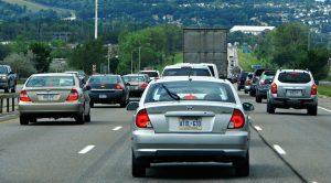 Traffic in Barrie, Ontario