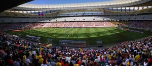 Cape Town Stadium panorama. World Cup 2010.