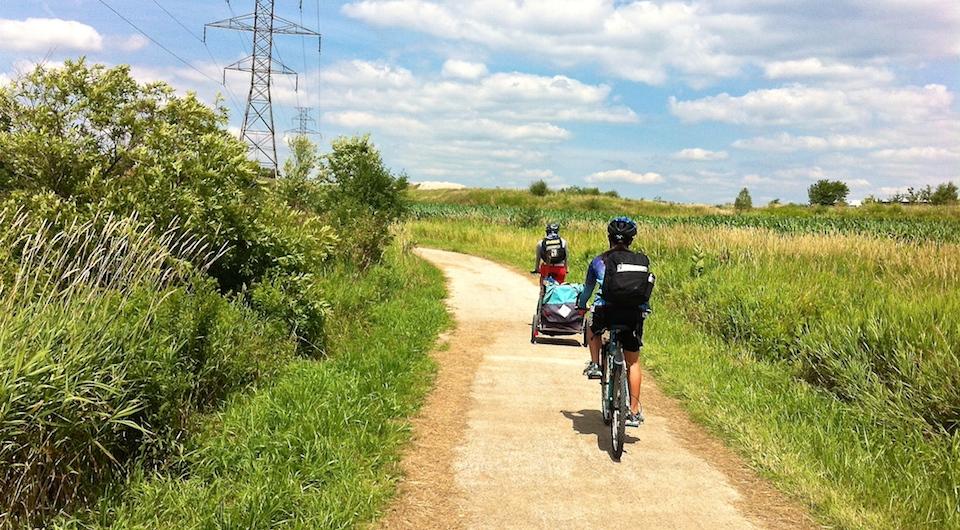 En route to Laurel Creek Conservation Area via the Laurel Trail