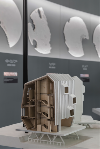 Housing Model @ 2014 Venice Biennale Exhibit image courtesy of Lateral Office
