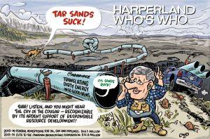 A\J Editorial cartoon by Gareth Lind.