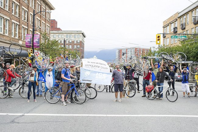 Vancouver #IceRide Participants