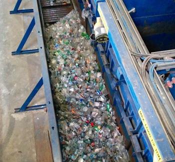 So many plastic bottles!