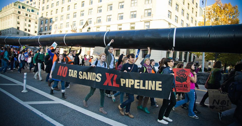 Tar Sands Action at the White House