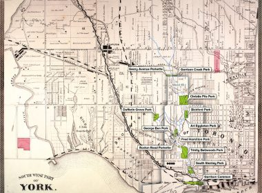 Map of Garrison Creek Parks