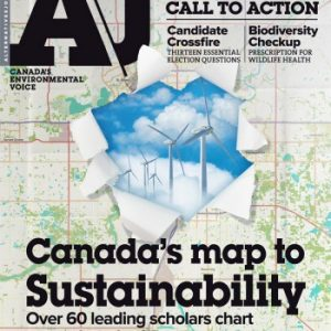 The cover of AJ's Canada's Map to Sustainability special issue