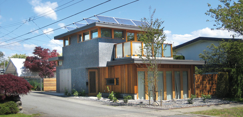 Laneway housing. City of Vancouver.