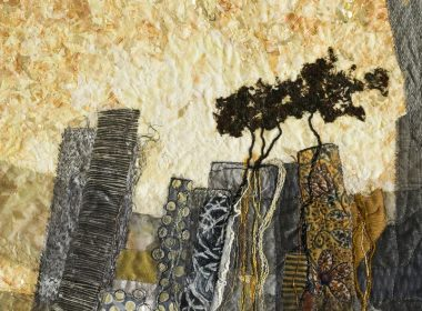 Escarpment (detail) \ Lorraine Roy