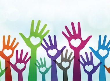 Volunteer hands Fotolia_70765048