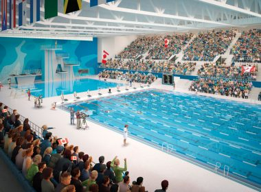 CIBC Pan Am/Parapan Am Aquatics Centre and Field House competition pool.