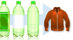 From recycled pop bottles to fleece pullovers