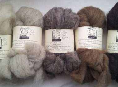 (Photo: A colour palette of All Sorts Acre wool)