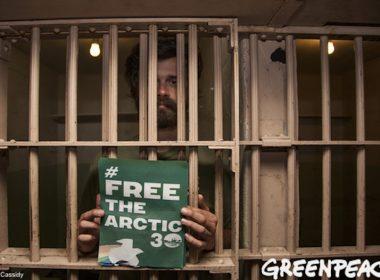 Free the Arctic 30