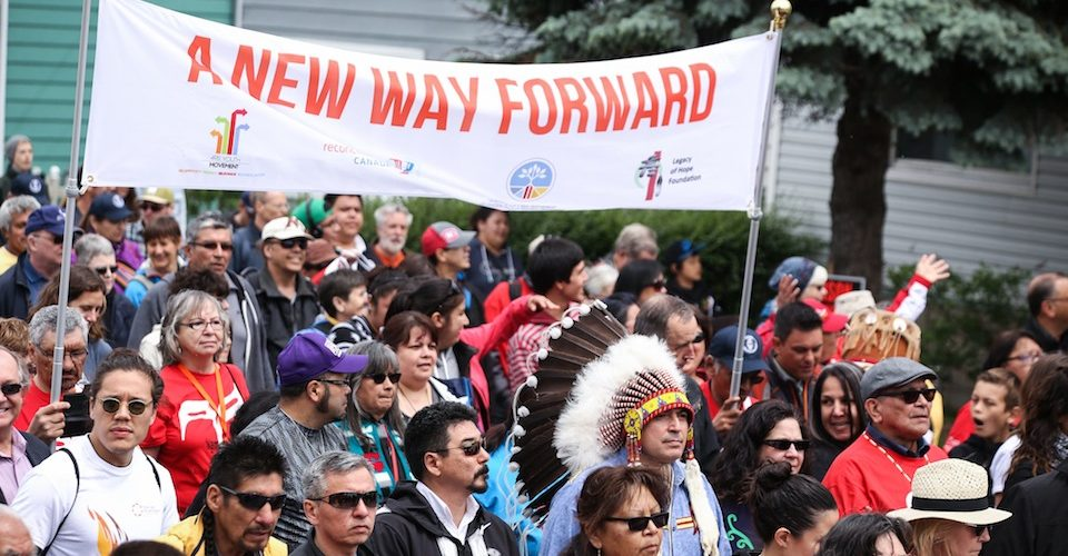 """Truth and Reconciliation Commission - Day 1 - Walk for Reconciliation """"A\J Alter"""