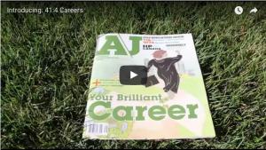 Introducing 41:4 Careers (Screen shot)