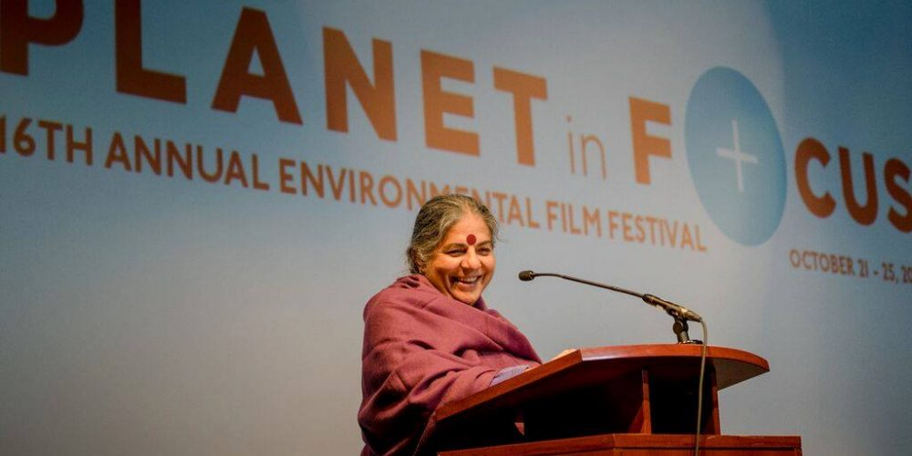 Dr. Vandana Shiva at Planet in Focus