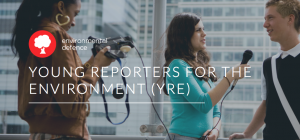 YRE Canada is part of Young Reporters for the Environment – an international pro